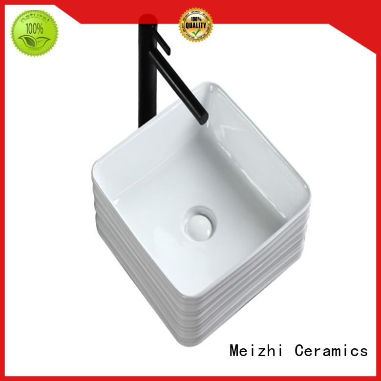Meizhi gold stylish wash basin factory price for bathroom
