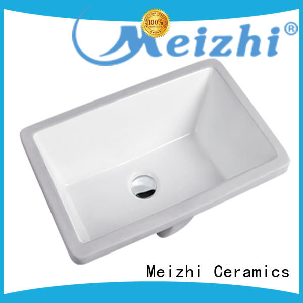 Meizhi contemporary wash basin top directly sale for hotel