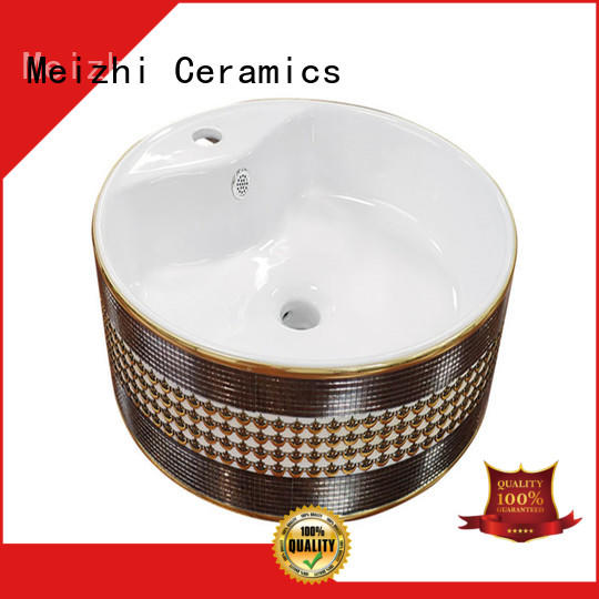 Meizhi toilet hand basin factory price for hotel