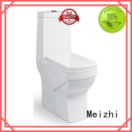 Meizhi ceramic one piece elongated toilet customized for home
