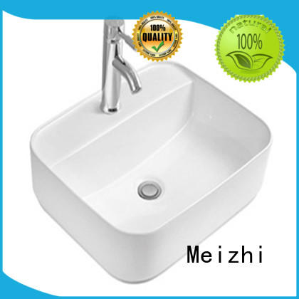 fancy wash basin size factory price for washroom