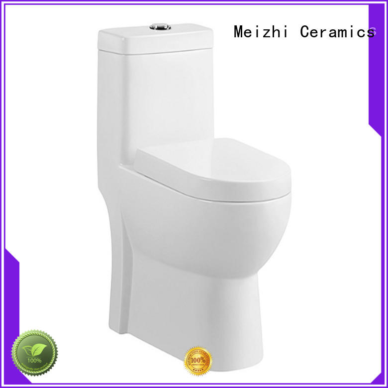 Meizhi siphonic 1 piece toilet manufacturer for bathroom