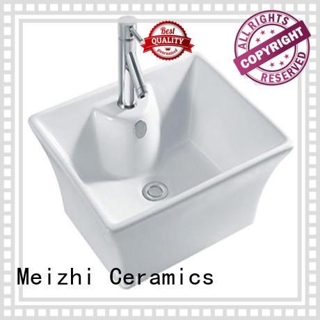 Meizhi elegant latest wash basin customized for bathroom