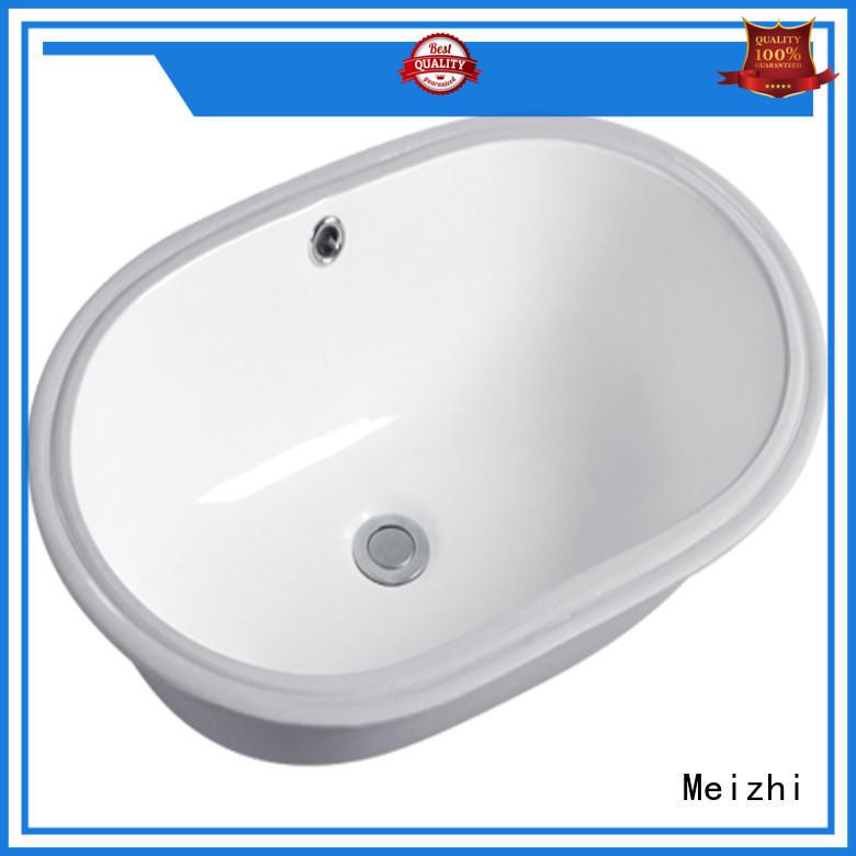 Meizhi above counter basins wholesale for washroom