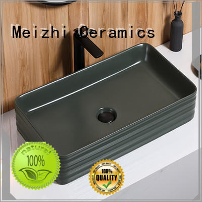 creative basin black factory price for washroom