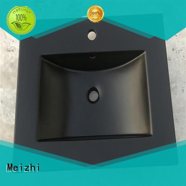 Meizhi reliable black bathroom basin manufacturer for bathroom