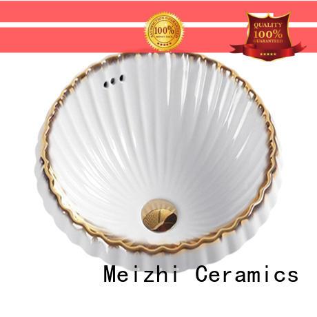 Meizhi ceramic sink basin customized for bathroom