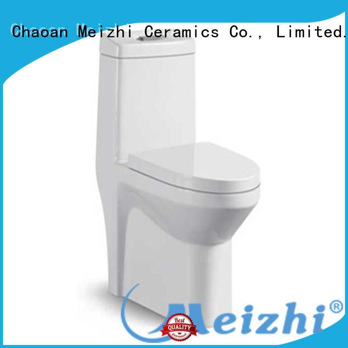 Meizhi new design one piece toilet customized for bathroom