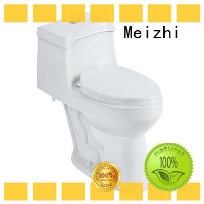 Meizhi ceramic one piece comfort height toilet customized for hotel