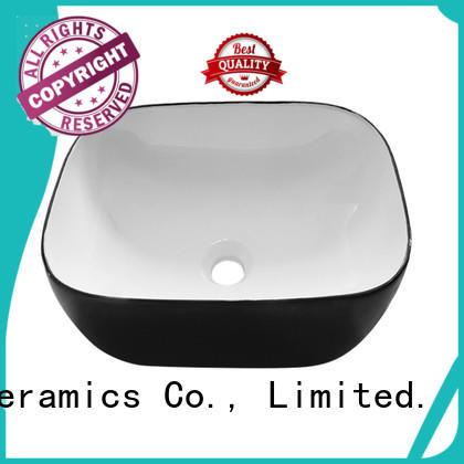 modern black sink basin manufacturer for hotel