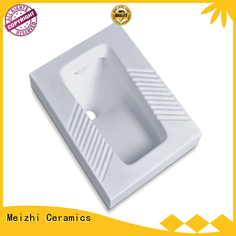 Meizhi chinese squat toilet personalized for bathroom