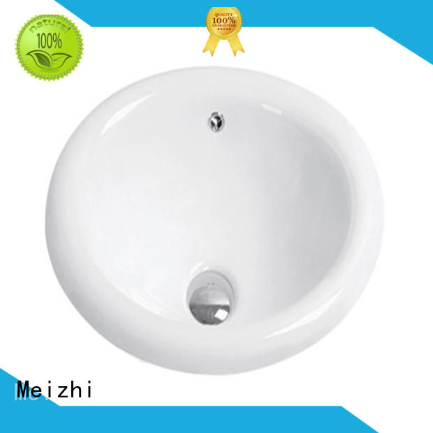 Meizhi high quality wash basin top wholesale for hotel
