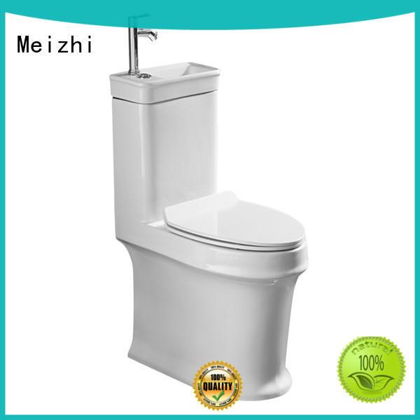 Meizhi ceramic comfort level toilet customized for washroom