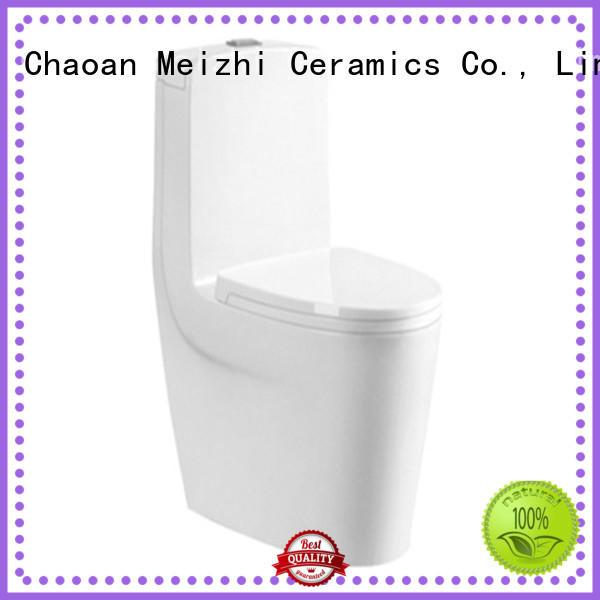 Meizhi ceramic one piece round toilet wholesale for hotel
