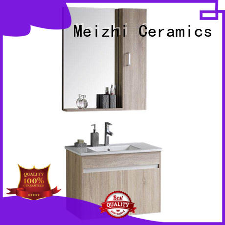 Meizhi bathroom vanity cabinets manufacturer for hotel