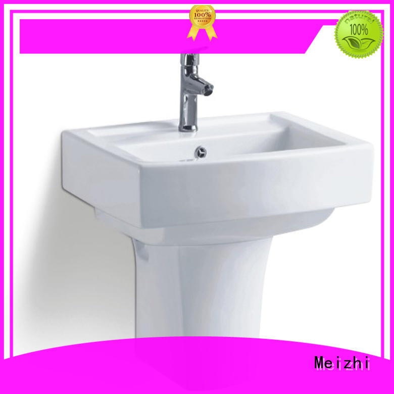 Meizhi wall hung basin directly sale for bathroom