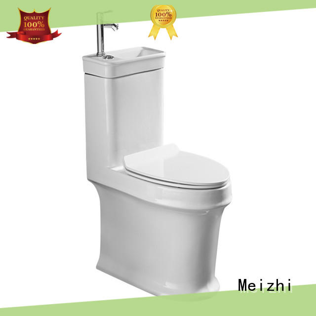 Meizhi square american standard one piece toilet with good price for washroom