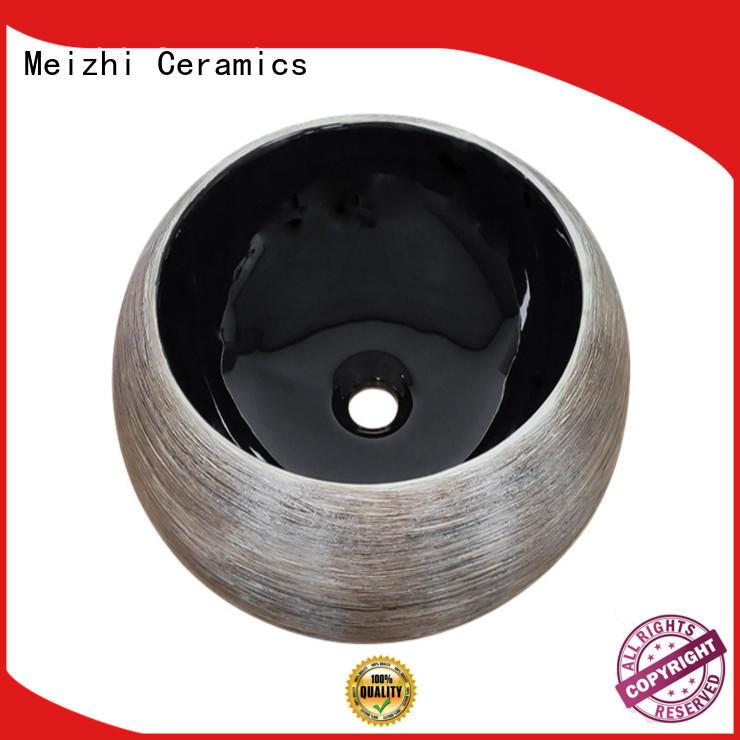 ceramic black bathroom basin manufacturer for bathroom