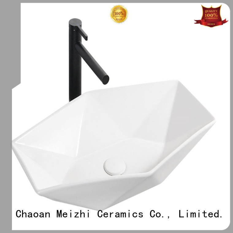 Meizhi gold wash basin manufacturer for washroom