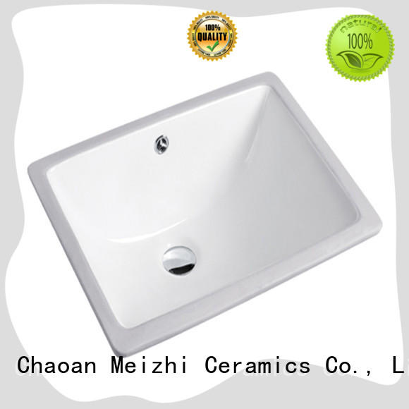 Meizhi round countertop basin supplier for washroom