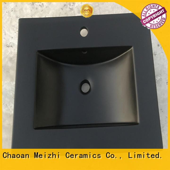 Meizhi black sink basin factory price for bathroom