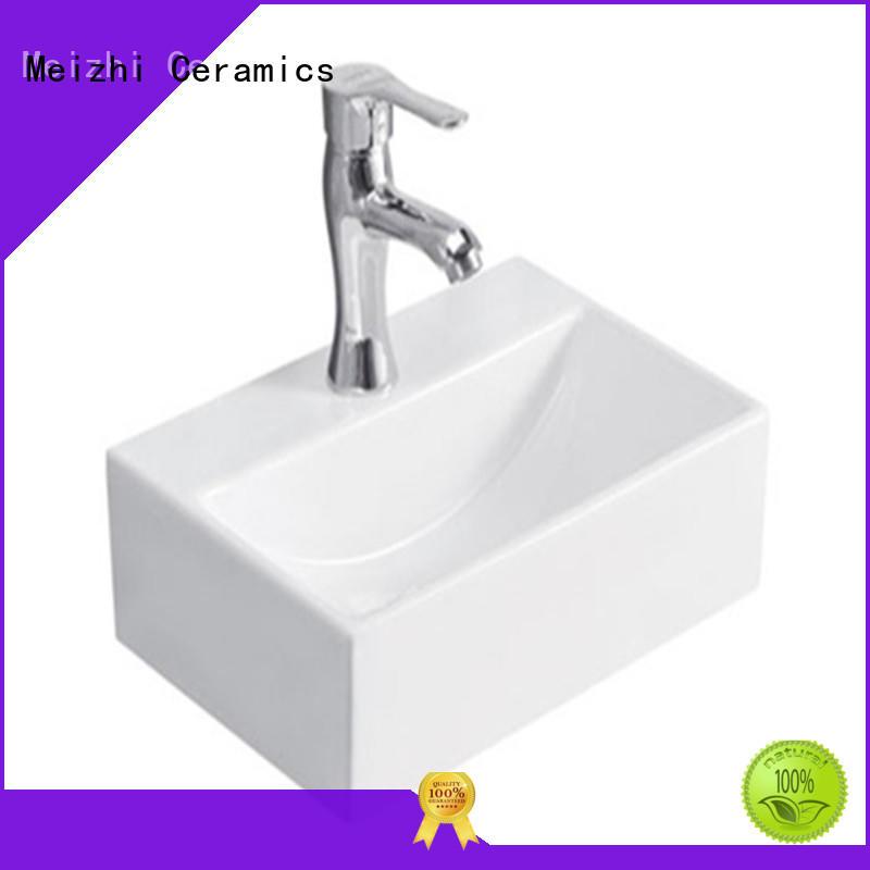 Meizhi ceramic stylish wash basin customized for hotel