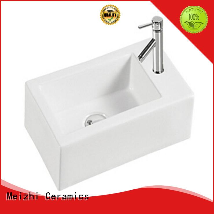 Meizhi ceramic latest wash basin manufacturer for bathroom