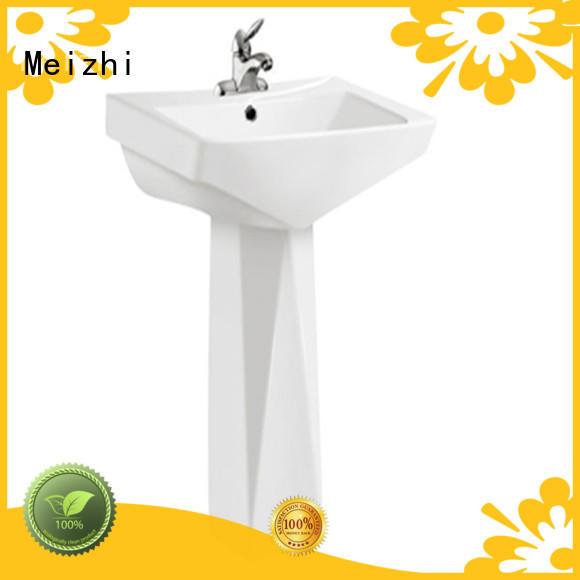 Meizhi ceremic wash basin furniture customized for bathroom