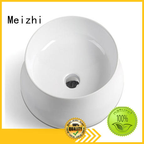 Meizhi printed toilet wash basin customized for washroom