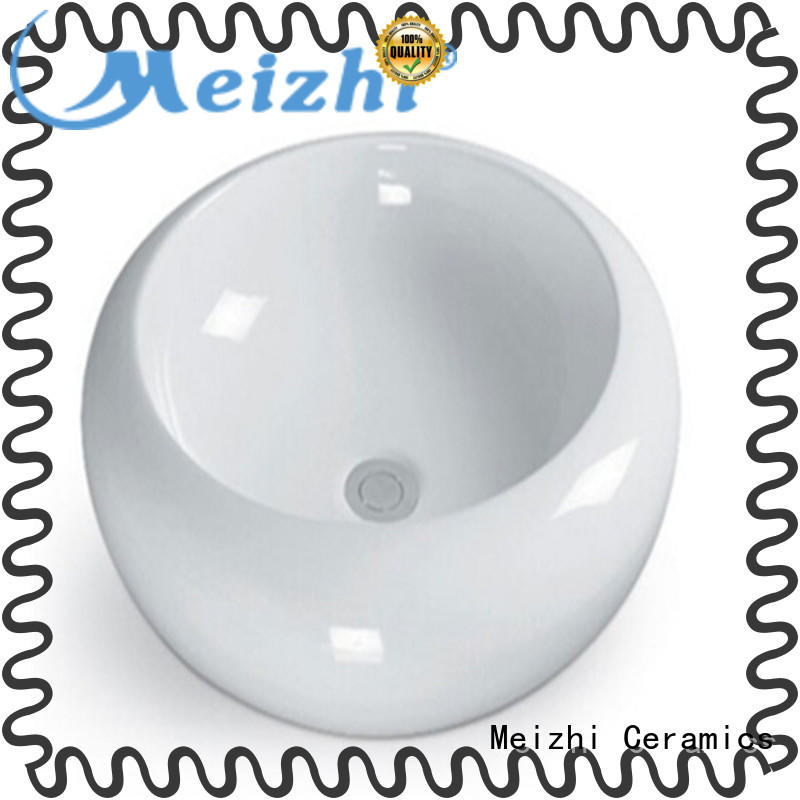 elegant round wash basin factory price for hotel