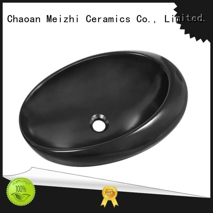 high quality black basin factory for bathroom