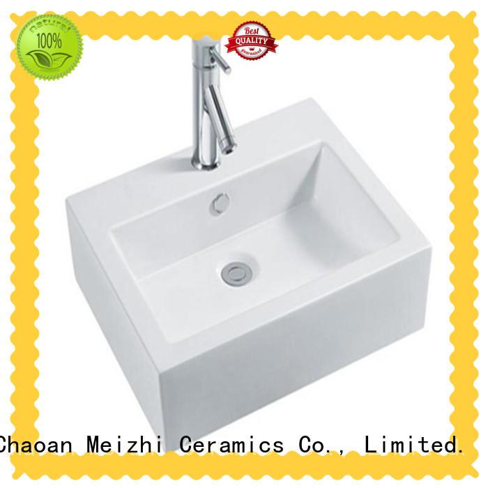 fancy wash basin size manufacturer for home