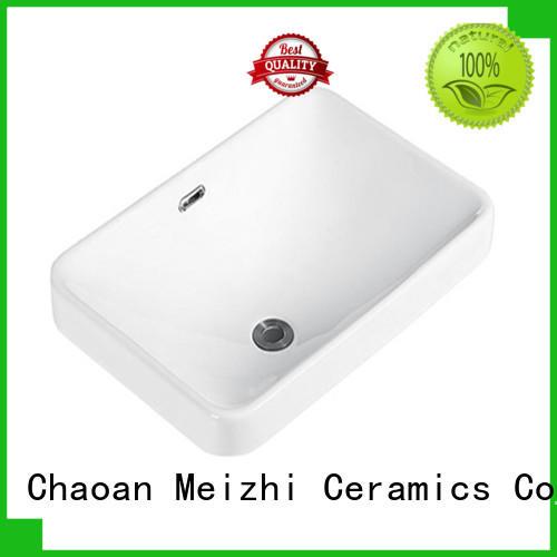 Meizhi high quality table top basin manufacturer for washroom