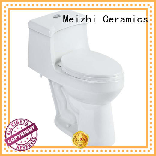 Meizhi one piece comfort height toilet with good price for washroom