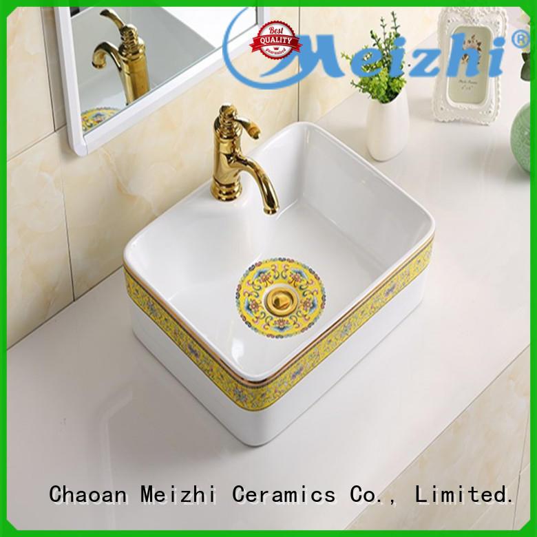 Meizhi ceramic latest wash basin wholesale for bathroom