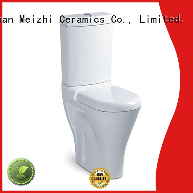 Meizhi two piece toilet directly sale for bathroom