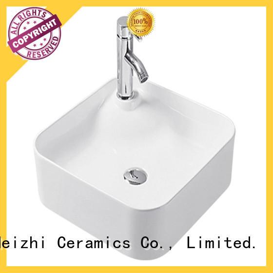 Meizhi elegant stylish wash basin wholesale for washroom