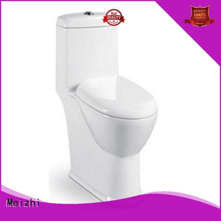 Meizhi modern one piece toilet supplier for bathroom