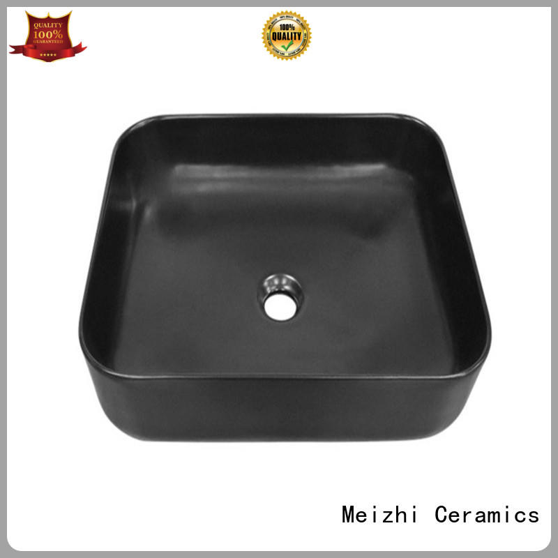 custom design black basin factory price for bathroom