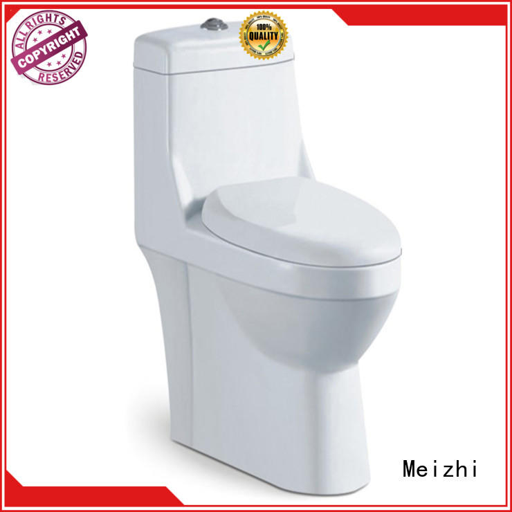 Meizhi single piece toilet directly sale for bathroom