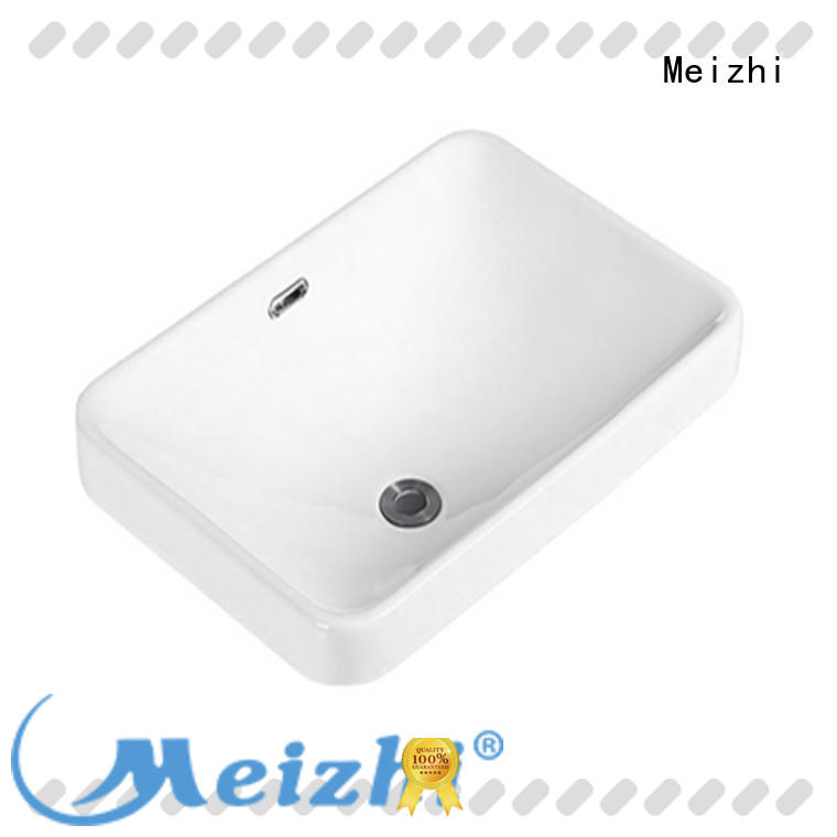 Meizhi high quality round countertop basin supplier for bathroom