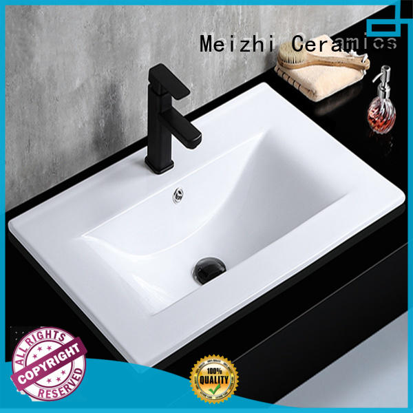 Meizhi ceramic vanity basin with good price for home