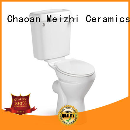 Meizhi p-trap toilets with buttons on top manufacturer for bathroom
