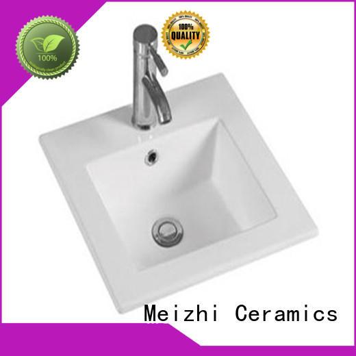contemporary bathroom basin units customized for hotel