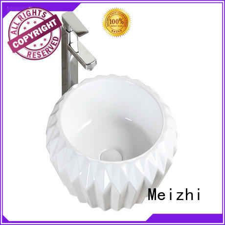 Meizhi printed art basin manufacturer for home