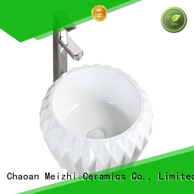 Meizhi toilet hand basin supplier for bathroom