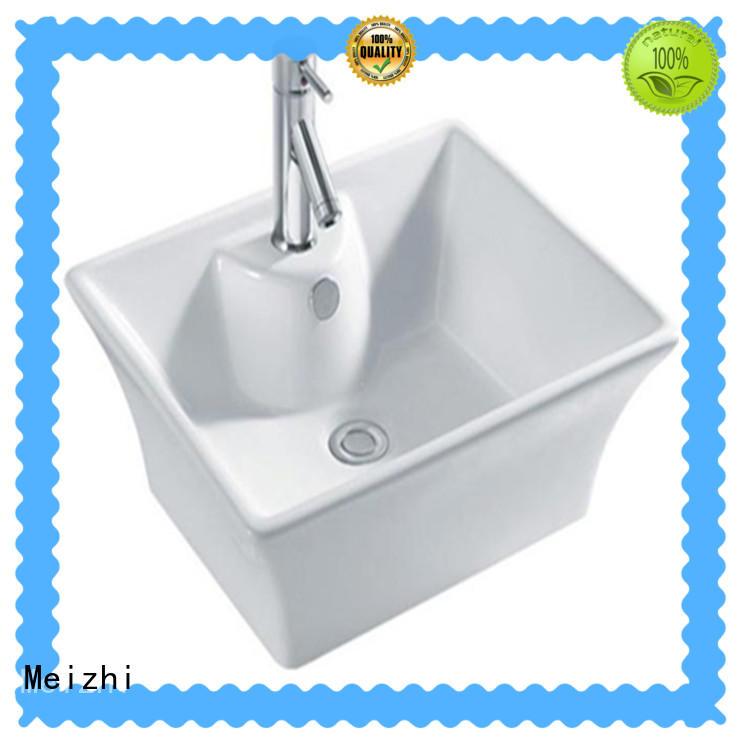 Meizhi elegant sink basin wholesale for washroom