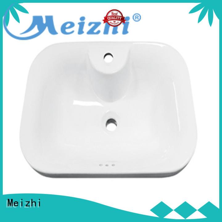ceramic bathroom countertop basin supplier for hotel