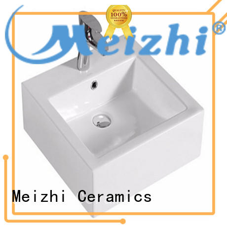 Meizhi gold round wash basin supplier for hotel