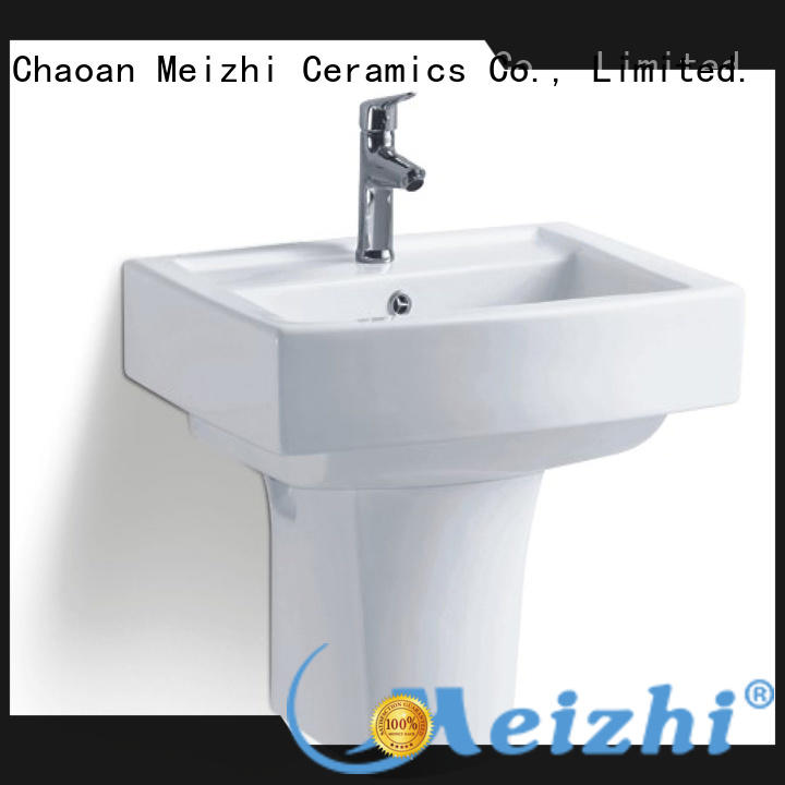 Meizhi wall hung basin supplier for bathroom